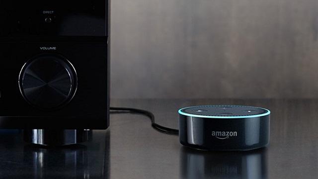 Amazonエコードットスマートスピーカー