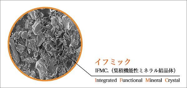 IFMC.(イフミック):集積機能性ミネラル結晶体