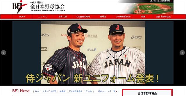 一般財団法人 全日本野球協会