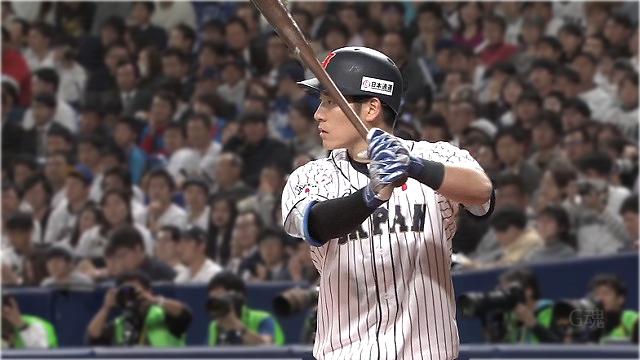 日米野球上林