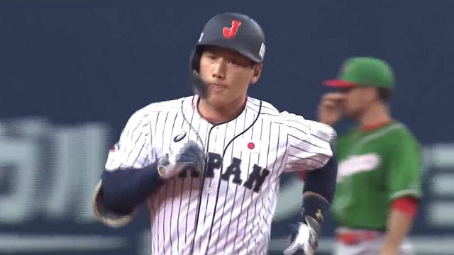 2019侍ジャパン吉田正尚満塁HR