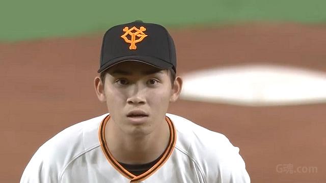 読売巨人軍#12高橋優貴