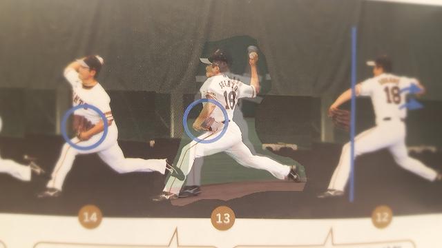 菅野投球フォーム重ね比較