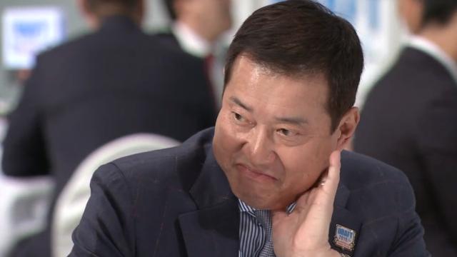 宮川哲投手の指名が被ったときの原監督