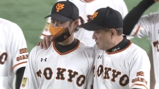 原監督と亀井さん