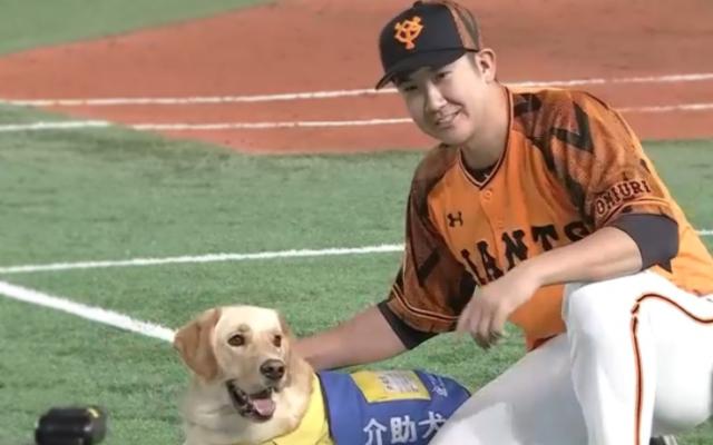 菅野と介助犬