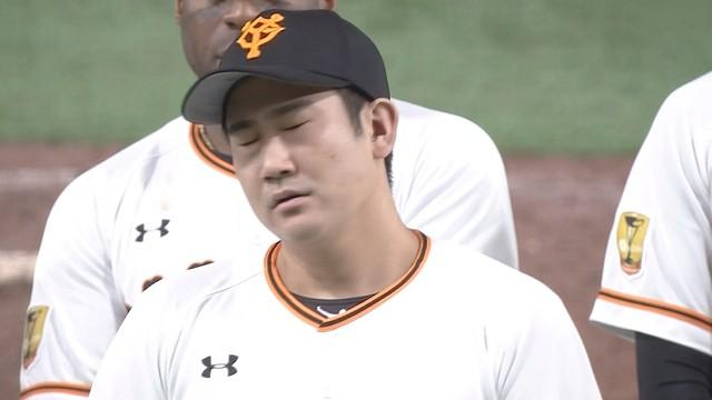 原監督の無茶ぶりに嫌な顔をする菅野
