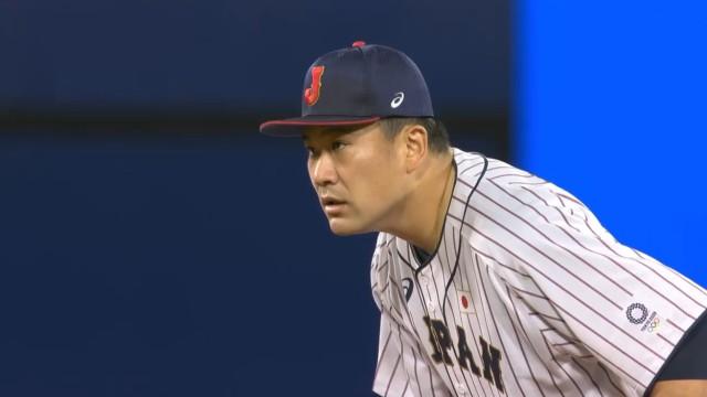 東京オリンピック野球競 日本対アメリカ 先発田中将大